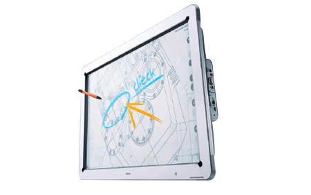 互动电子液晶显示器D5500